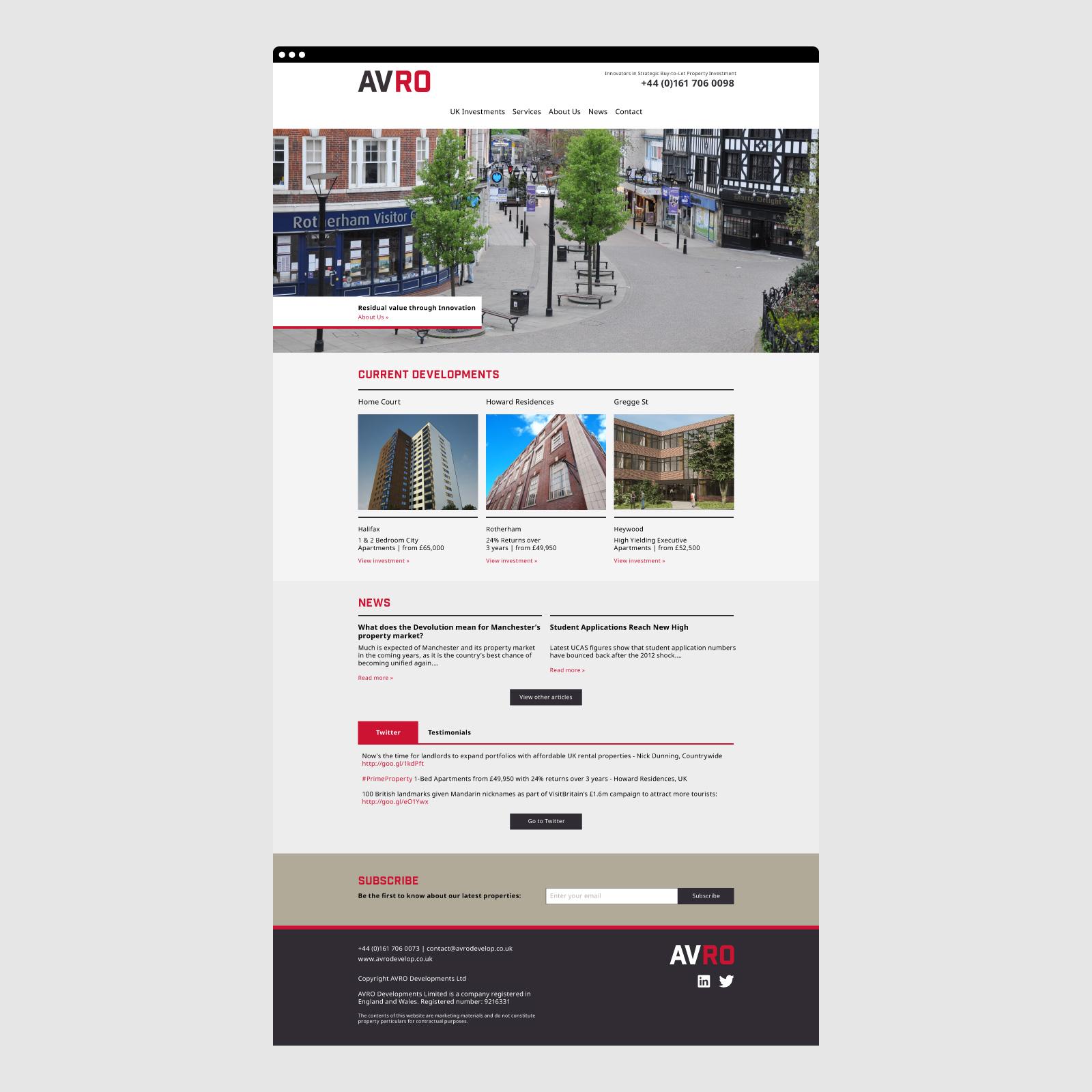 AVRO Website 01