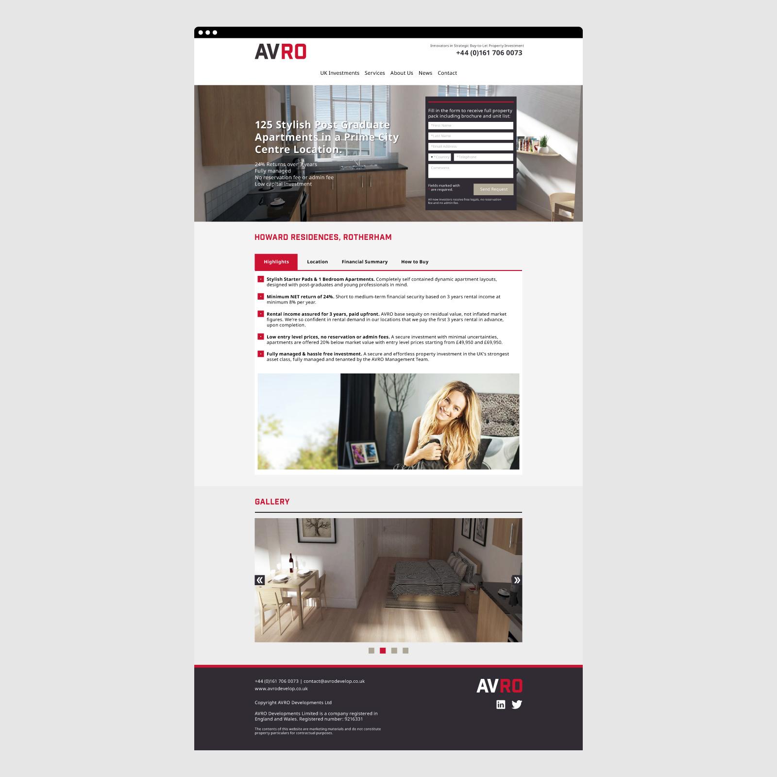 AVRO Website 03