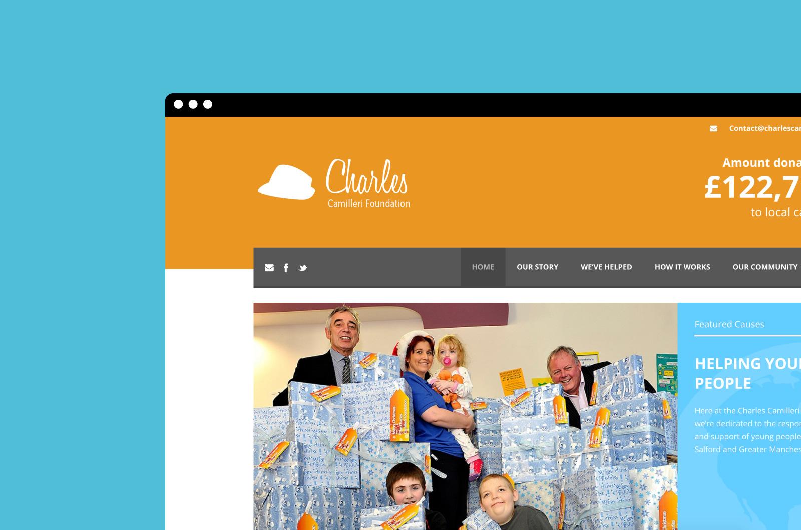 CCF Website Header