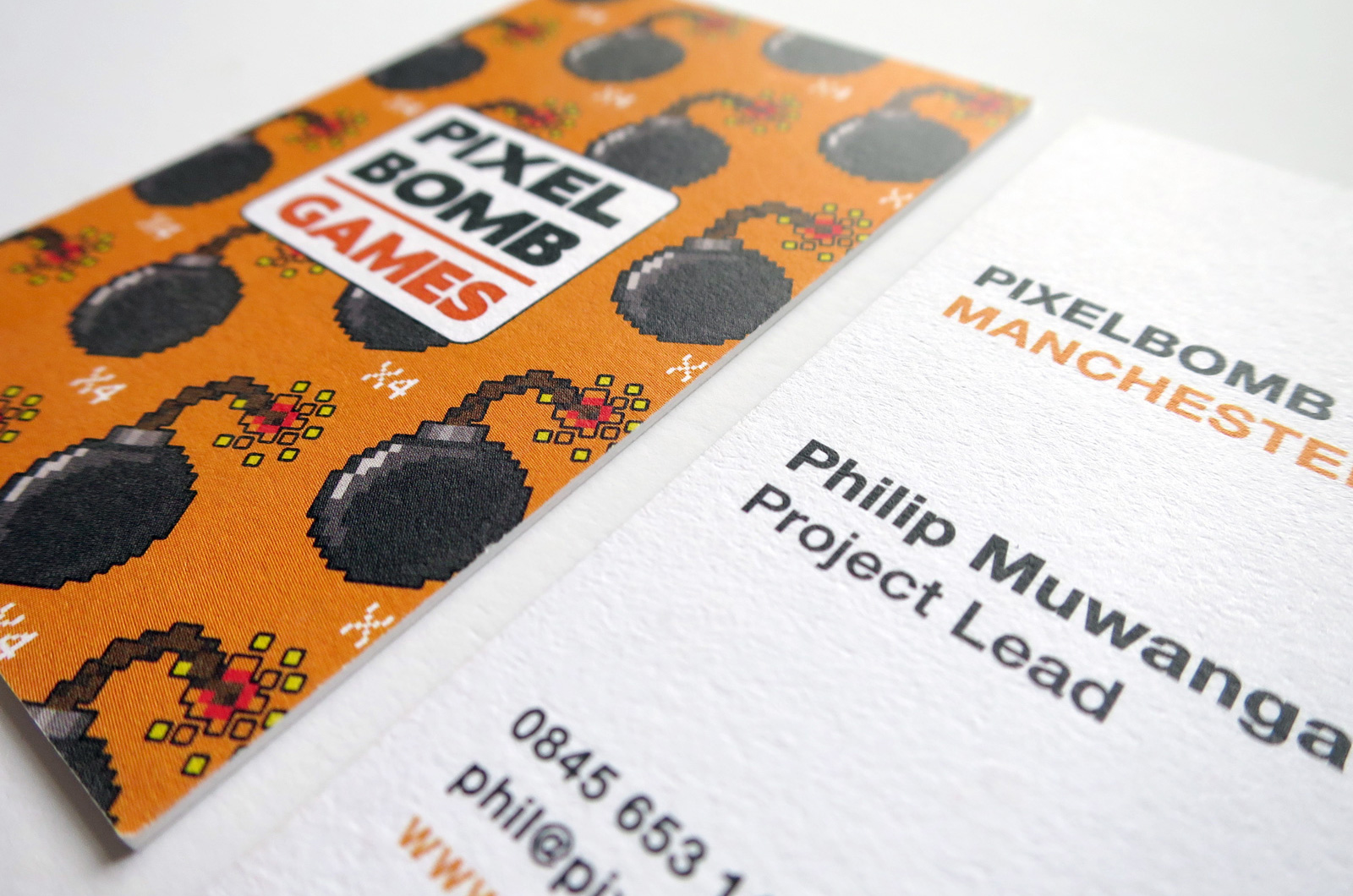 Pixelbomb Games Business Cards 01