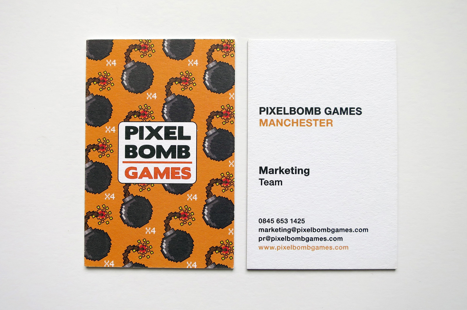 Pixelbomb Games Business Cards 02