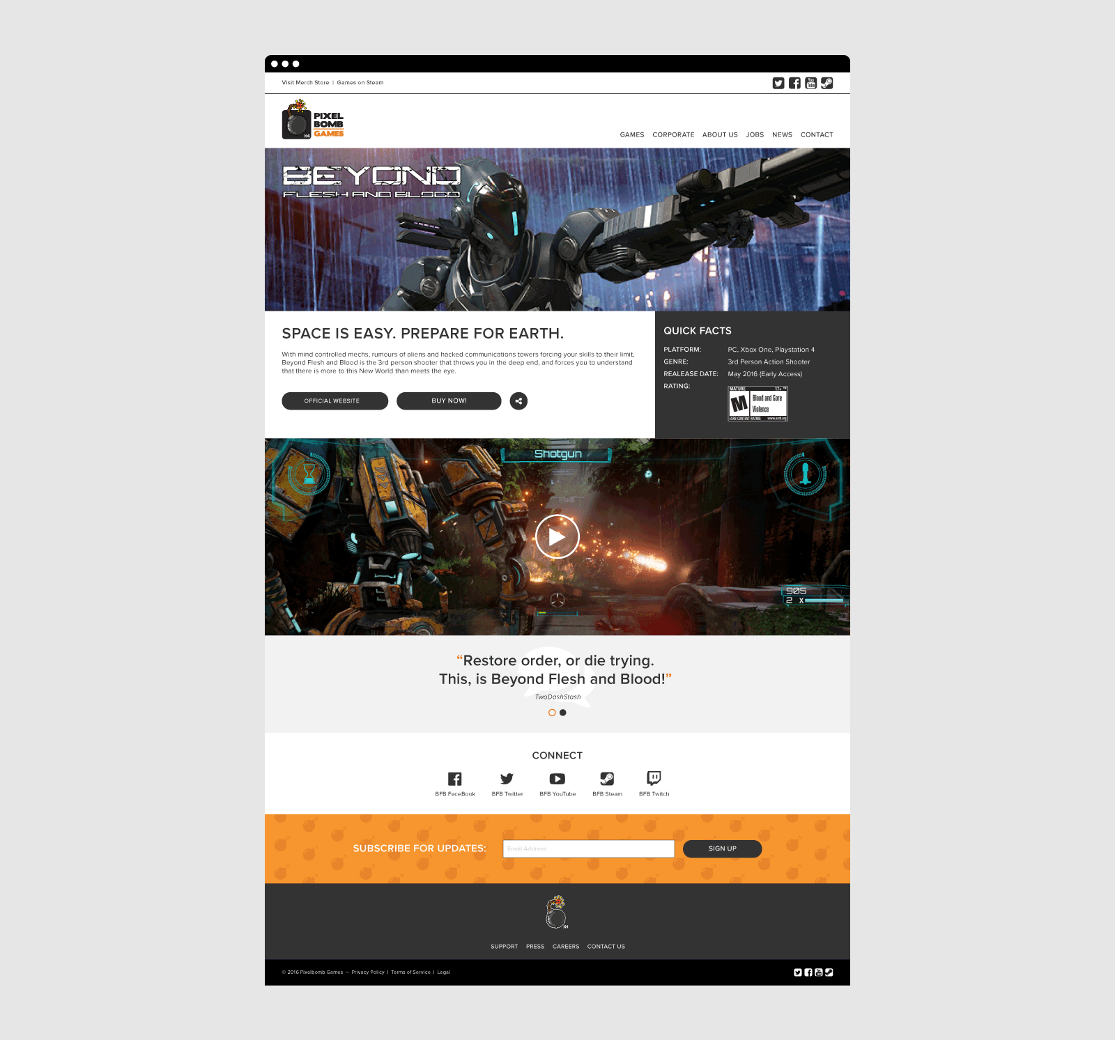 Pixelbomb Website 03