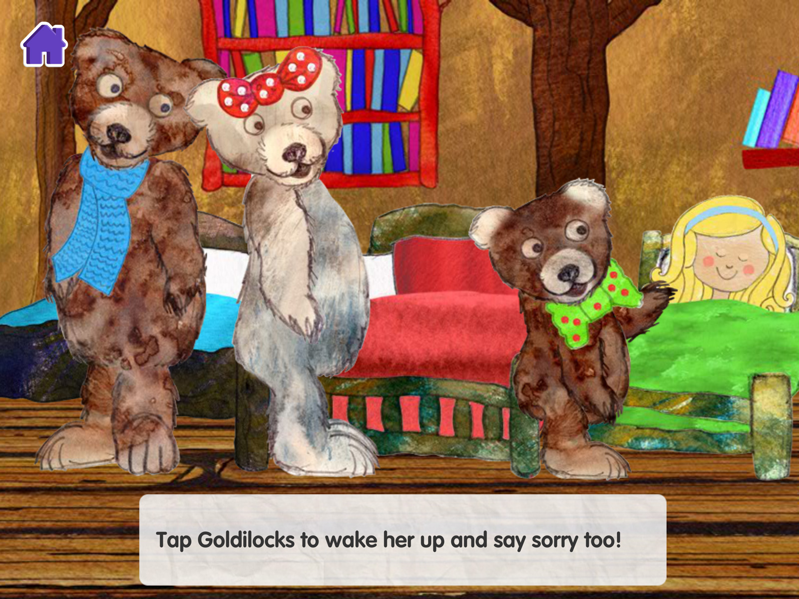 CBeebies Storytime - Goldilocks iPad 08