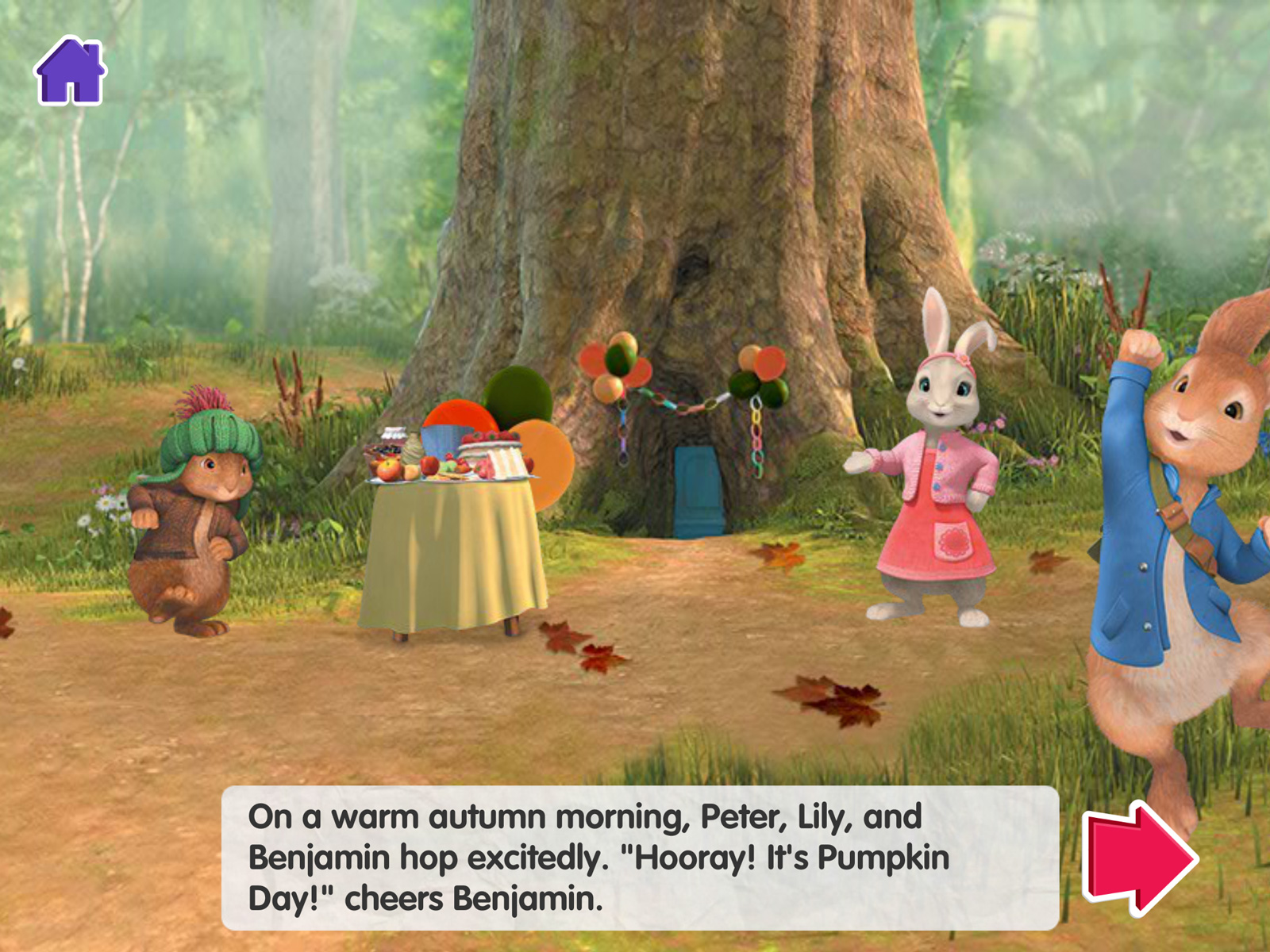 CBeebies Storytime - Peter Rabbit iPad 01